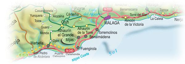 Location Details Mjas Village Mijas Costa And Fuengirola